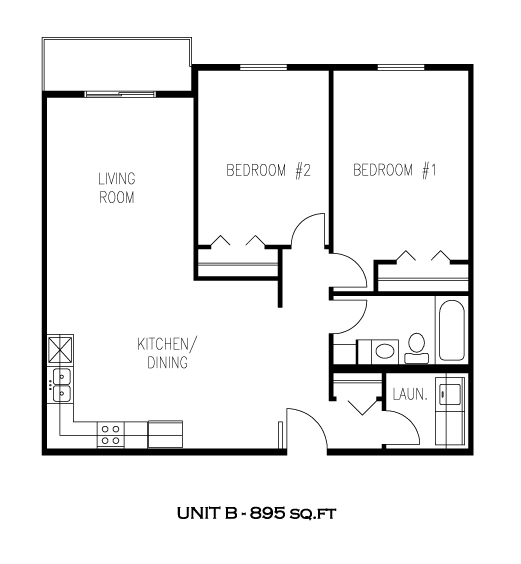 Unit B - Tamarack Manor