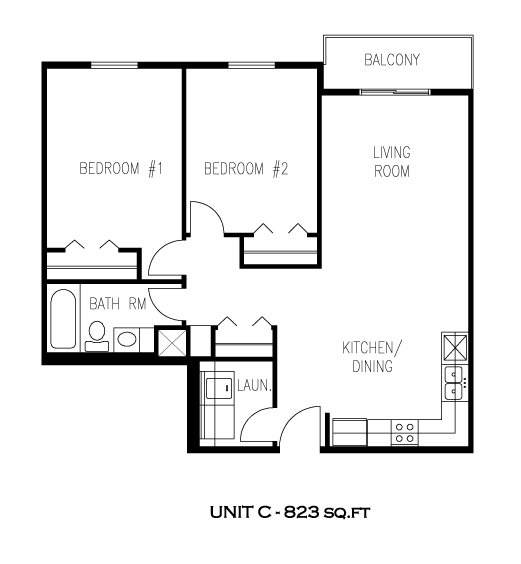 Unit C - Tamarack Manor